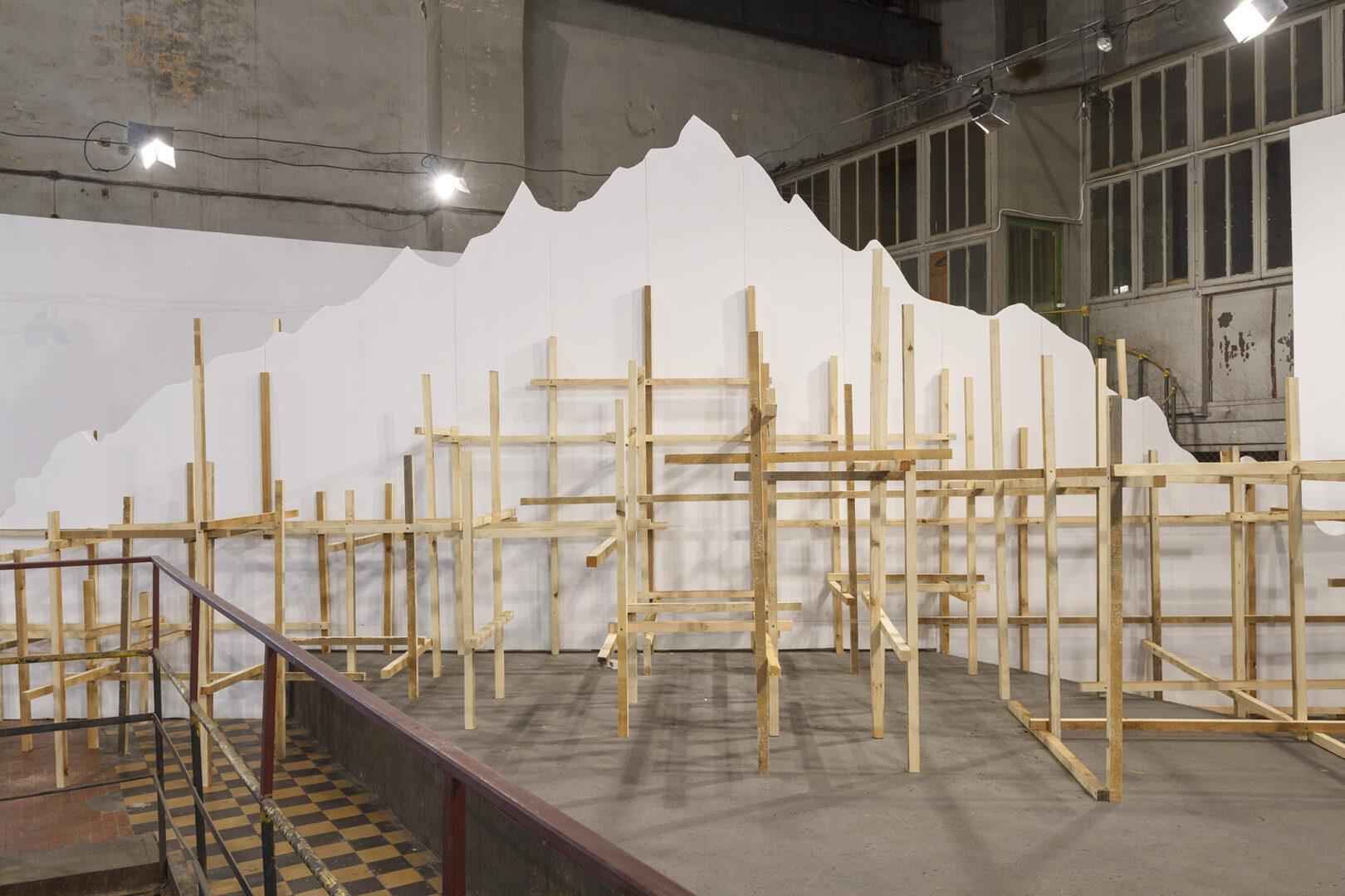 Constructing Mountain II, 2020